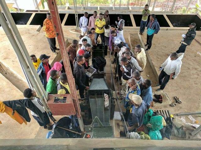 Кофейные фермеры в Бурунди
