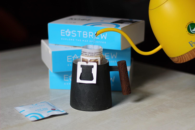 Заваривание кофе в дрип-пакетах